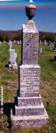 AUGENSTEIN, MATTHEW AUGUST SR. - Washington County, Ohio | MATTHEW AUGUST SR. AUGENSTEIN - Ohio Gravestone Photos