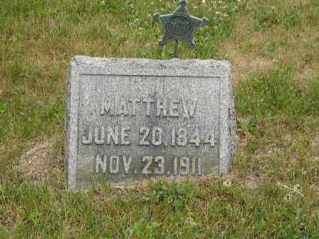 AUGENSTEIN, MATTHEW - Washington County, Ohio | MATTHEW AUGENSTEIN - Ohio Gravestone Photos