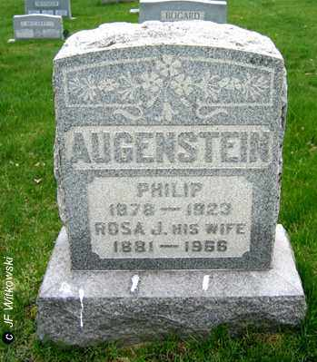 AUGENSTEIN, ROSA J. - Washington County, Ohio | ROSA J. AUGENSTEIN - Ohio Gravestone Photos