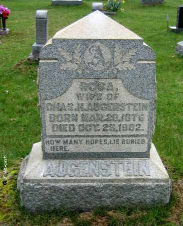 AUGENSTEIN, ROSA - Washington County, Ohio | ROSA AUGENSTEIN - Ohio Gravestone Photos