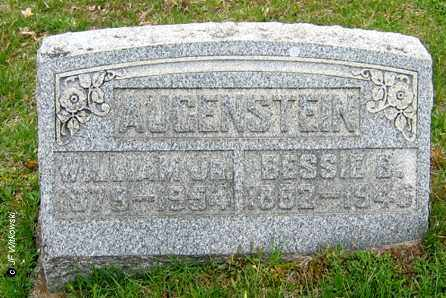 AUGENSTEIN, BESSIE B. - Washington County, Ohio | BESSIE B. AUGENSTEIN - Ohio Gravestone Photos
