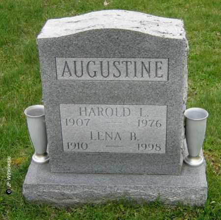 AUGUSTINE, LENA B. - Washington County, Ohio | LENA B. AUGUSTINE - Ohio Gravestone Photos