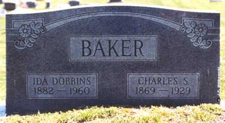 BAKER, CHARLES SMITH - Washington County, Ohio | CHARLES SMITH BAKER - Ohio Gravestone Photos