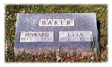 BAKER, ETTA - Washington County, Ohio | ETTA BAKER - Ohio Gravestone Photos