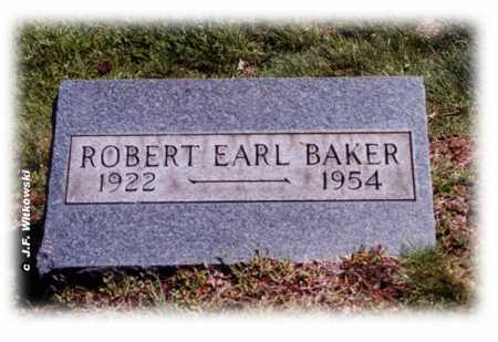 BAKER, ROBERT EARL - Washington County, Ohio | ROBERT EARL BAKER - Ohio Gravestone Photos