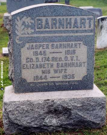 BARNHART, ELIZABETH - Washington County, Ohio | ELIZABETH BARNHART - Ohio Gravestone Photos