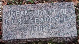 BEARDSLEY, INFANT DAUGHTER - Washington County, Ohio | INFANT DAUGHTER BEARDSLEY - Ohio Gravestone Photos