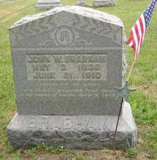 BRABHAM, JOHN - Washington County, Ohio | JOHN BRABHAM - Ohio Gravestone Photos