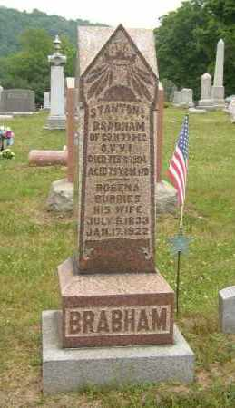 BRABHAM, ROSENA - Washington County, Ohio | ROSENA BRABHAM - Ohio Gravestone Photos