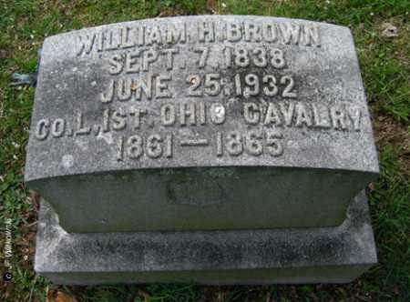 BROWN, WILLIAM H. - Washington County, Ohio | WILLIAM H. BROWN - Ohio Gravestone Photos