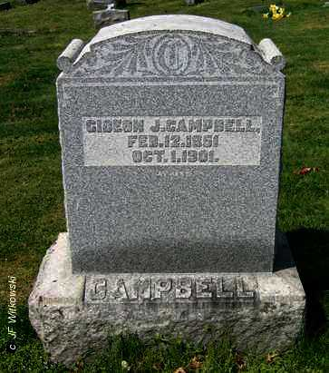 CAMPBELL, GIDEON J. - Washington County, Ohio | GIDEON J. CAMPBELL - Ohio Gravestone Photos