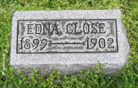 CLOSE, EDNA - Washington County, Ohio | EDNA CLOSE - Ohio Gravestone Photos