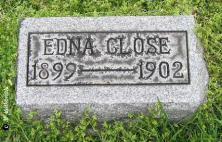 CLOSE, EDNA - Washington County, Ohio | EDNA CLOSE - Ohio Gravestone Photos