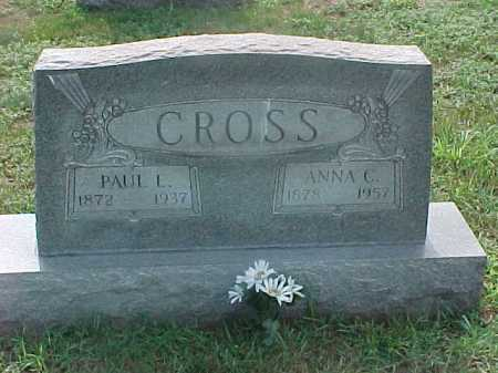 CROSS, PAUL - Washington County, Ohio | PAUL CROSS - Ohio Gravestone Photos