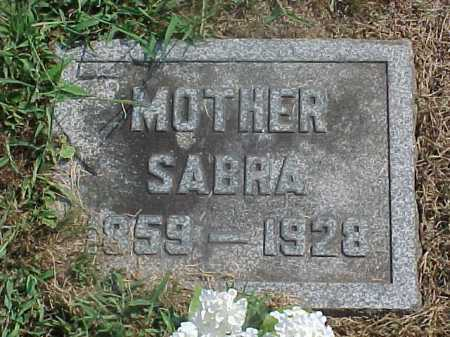 ROBINSON CUTSHAW, SABRA - Washington County, Ohio | SABRA ROBINSON CUTSHAW - Ohio Gravestone Photos