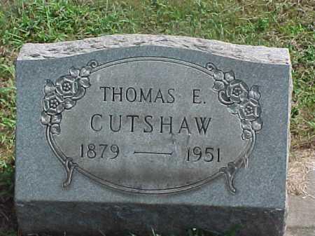 CUTSHAW, THOMAS - Washington County, Ohio | THOMAS CUTSHAW - Ohio Gravestone Photos