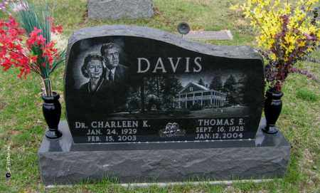DAVIS, DR CHARLEEN K. - Washington County, Ohio | DR CHARLEEN K. DAVIS - Ohio Gravestone Photos