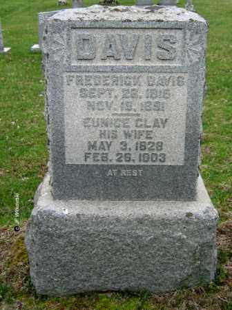 DAVIS, FREDERICK C. JR - Washington County, Ohio | FREDERICK C. JR DAVIS - Ohio Gravestone Photos