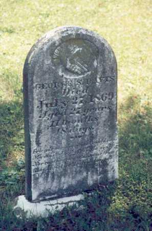 DAVIS, GEORGE S. - Washington County, Ohio | GEORGE S. DAVIS - Ohio Gravestone Photos