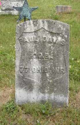 DAVIS, PAUL - Washington County, Ohio | PAUL DAVIS - Ohio Gravestone Photos