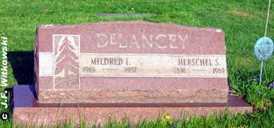 DELANCEY, HERSCHEL S. - Washington County, Ohio | HERSCHEL S. DELANCEY - Ohio Gravestone Photos