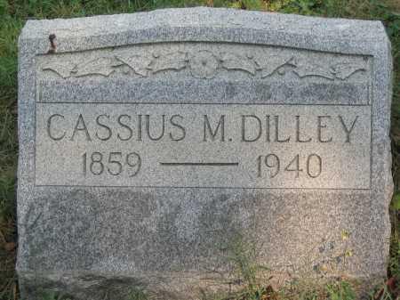 DILLEY, CASSIUS M. - Washington County, Ohio | CASSIUS M. DILLEY - Ohio Gravestone Photos