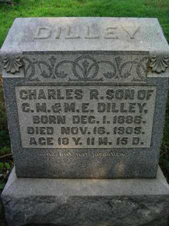 DILLEY, CHARLES R. - Washington County, Ohio | CHARLES R. DILLEY - Ohio Gravestone Photos