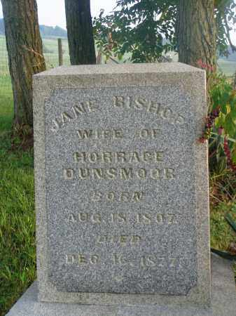 DUNSMOOR, JANE - Washington County, Ohio | JANE DUNSMOOR - Ohio Gravestone Photos