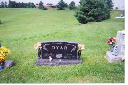 CHRISTY DYAR, EDNA - Washington County, Ohio | EDNA CHRISTY DYAR - Ohio Gravestone Photos