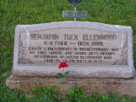 ELLENWOOD, BENJAMIN TUCK - Washington County, Ohio | BENJAMIN TUCK ELLENWOOD - Ohio Gravestone Photos