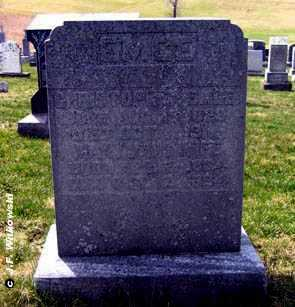 BARNETT EMGE, MARY JANE - Washington County, Ohio | MARY JANE BARNETT EMGE - Ohio Gravestone Photos