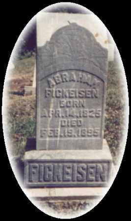 FICKEISEN, ABRAHAM - Washington County, Ohio | ABRAHAM FICKEISEN - Ohio Gravestone Photos