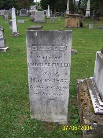 FULLER, NANCY - Washington County, Ohio | NANCY FULLER - Ohio Gravestone Photos