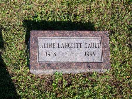 PERRY (LANGFITT) GAULT, ALICE ALINE - Washington County, Ohio | ALICE ALINE PERRY (LANGFITT) GAULT - Ohio Gravestone Photos