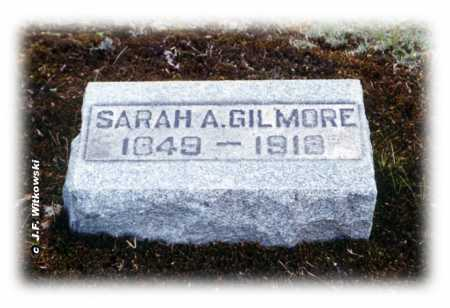 GILMORE, SARAH ANN - Washington County, Ohio | SARAH ANN GILMORE - Ohio Gravestone Photos