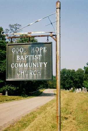 GOOD HOPE, SIGN - Washington County, Ohio | SIGN GOOD HOPE - Ohio Gravestone Photos