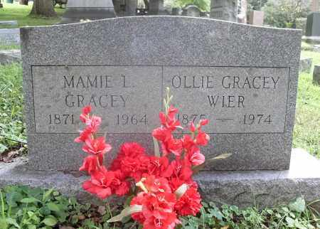 GRACEY WIER, OLLIE - Washington County, Ohio | OLLIE GRACEY WIER - Ohio Gravestone Photos