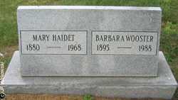 HAIDET, MARY - Washington County, Ohio | MARY HAIDET - Ohio Gravestone Photos