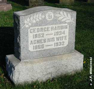 HARDIN, GEORGE - Washington County, Ohio | GEORGE HARDIN - Ohio Gravestone Photos