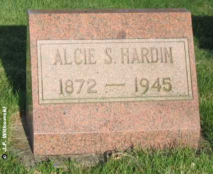 HARDIN, ALICE S. - Washington County, Ohio | ALICE S. HARDIN - Ohio Gravestone Photos