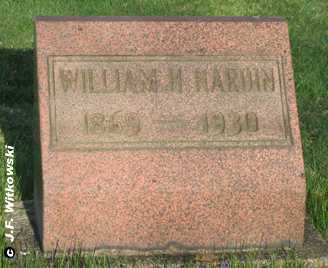 HARDIN, WILLIAM H. - Washington County, Ohio | WILLIAM H. HARDIN - Ohio Gravestone Photos