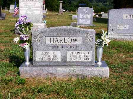HARLOW, JOSIE E - Washington County, Ohio | JOSIE E HARLOW - Ohio Gravestone Photos