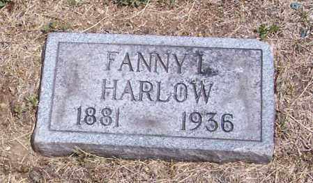 HARLOW, FANNY - Washington County, Ohio | FANNY HARLOW - Ohio Gravestone Photos