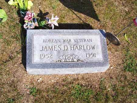 HARLOW, JAMES D - Washington County, Ohio | JAMES D HARLOW - Ohio Gravestone Photos