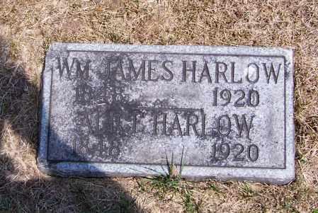 HARLOW, WM. JAMES - Washington County, Ohio | WM. JAMES HARLOW - Ohio Gravestone Photos