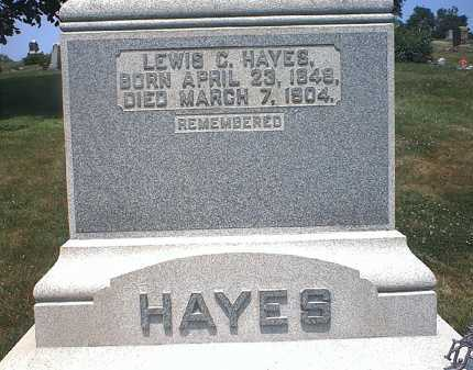 HAYES, LEWIS C. - Washington County, Ohio | LEWIS C. HAYES - Ohio Gravestone Photos