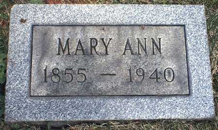 SKEHAN HAYES, MARY ANN - Washington County, Ohio | MARY ANN SKEHAN HAYES - Ohio Gravestone Photos