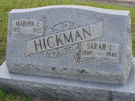 HICKMAN, MARION F. - Washington County, Ohio | MARION F. HICKMAN - Ohio Gravestone Photos
