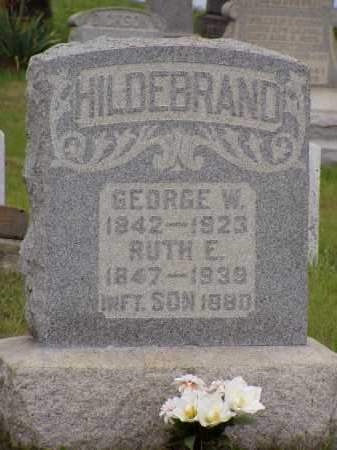 HILDEBRAND, RUTH E. - Washington County, Ohio | RUTH E. HILDEBRAND - Ohio Gravestone Photos