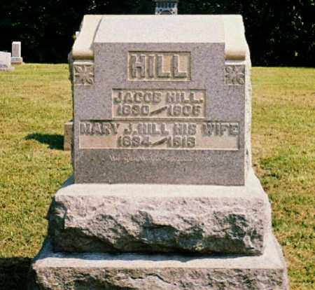 HILL, JACOB - Washington County, Ohio | JACOB HILL - Ohio Gravestone Photos